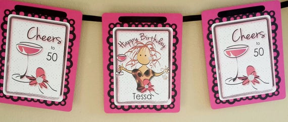 50th Birthday Party Idea Personalized