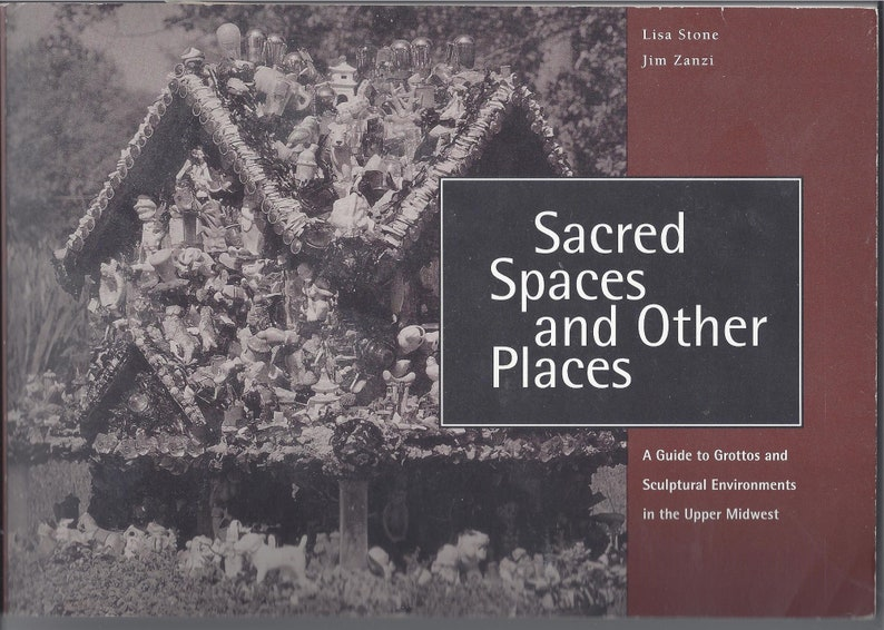 Wealthy Outsider Artist With >> Sacred Spaces And Other Places Grottos And Sculptural Etsy