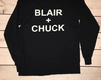 Blair & Chuck // Gossip Girl T-Shirt // TV Show Shirt