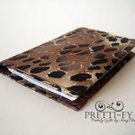 Animal Print Fabric Checkbook Cover, Leopard Print Checkbook, Check Book Cover, Cute Checkbook Cover, Pretty Check Book, Animal Print Wallet