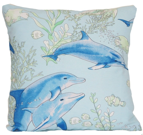 Dolphin pillow case | Etsy