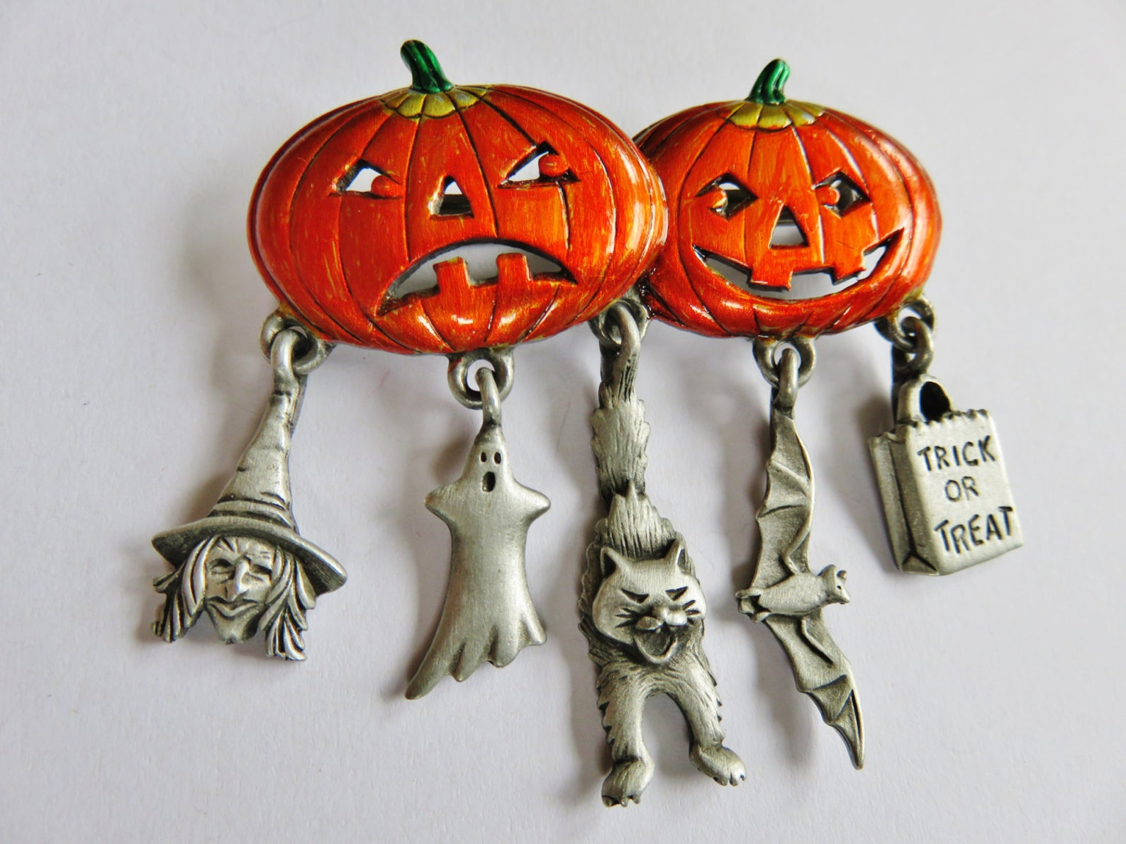 Jack O Lantern Brooches Page Four