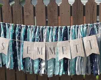 6' Custom Fabric Garland Banner
