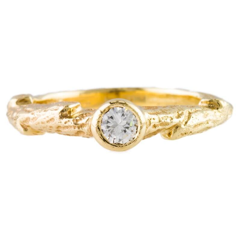 69bdeeb825223 Custom 14kt Gold Stackable Diamond Ring