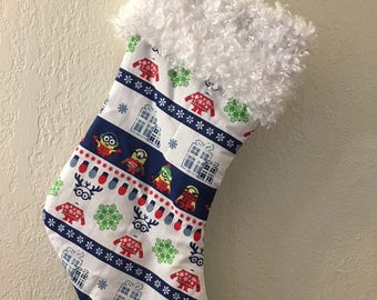 minion christmas stocking - Minion Christmas Stocking