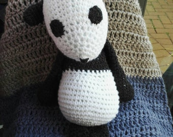 Fiona, the hand crocheted panda! Perfect gift for all ages.