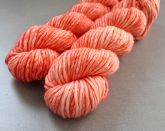 "Moose - ""Coral"" - Bulky Weight Single Ply"