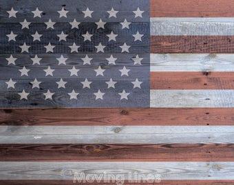 67fa2399535b7 Amerikanische Flagge digitale Kulisse 4. Juli Fotoshooting Hintergrund