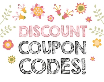 Discount Coupon Codes, Sale, Free Digital Files, Freebies, Get One Free, Photography Backdrop, Digital Paper, Photo Shoot Prop