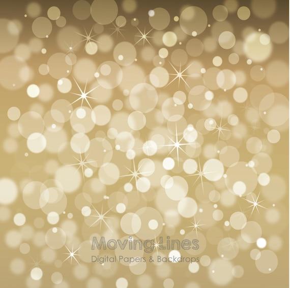 image 0 - Gold Bokeh Photography Backdrop Christmas Lights Digital Back Etsy
