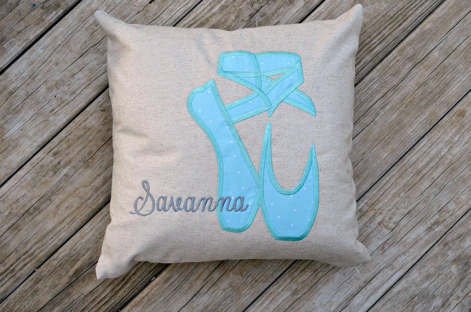 ballet decor,pointe shoes, ballet pillow, dancer decor, dancer gift, ballet art, girls bedroom decor, ballet christmas, nutcrack