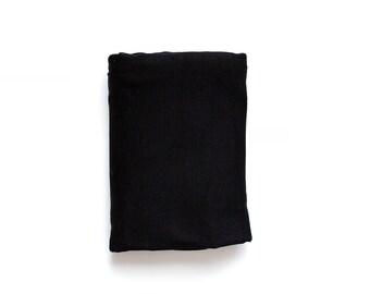 Black swaddle blanket