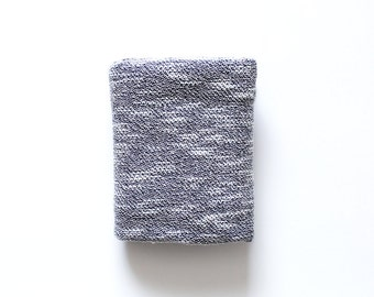 Gray textured swaddle blanket