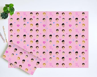 One Direction Wrapping Paper, Harry Styles Wrapping Paper, 1D Wrapping Paper, Niall Horan Wrapping Paper, Liam Payne Wrapping Paper, Louis T