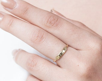 93b272105e772f Thin Gold Ring, Dainty Gold Ring, Simple Ring, Gold Ring For Women, Casual  Ring, Modern Ring, Fashion Ring, Rings For Her, Christmas Gifts