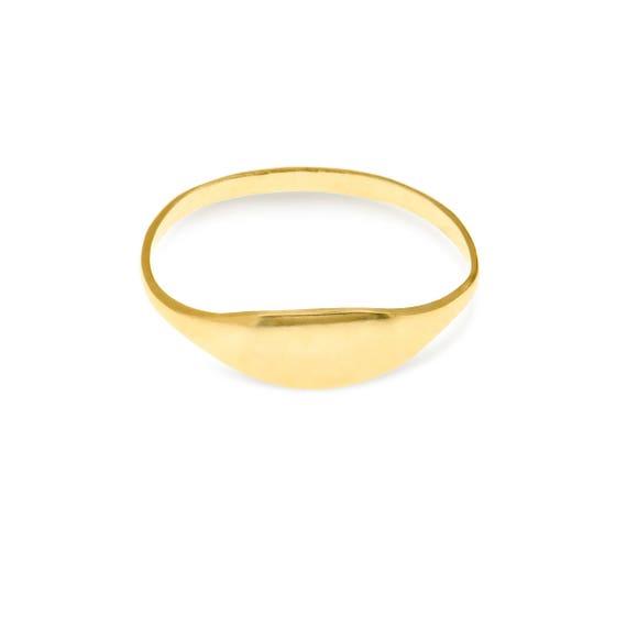 Siegelring Siegelring Damen Damen Siegelring Gold Vergoldet Etsy
