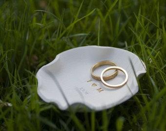 Plato anillo novia, regalo compromiso amiga, 1 aniversario, regalo para novia, de dama honor, regalos plato cumple, madre de la novia