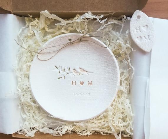 50th Wedding Anniversary Gifts Ring Plate 9th Wedding 30th Etsy