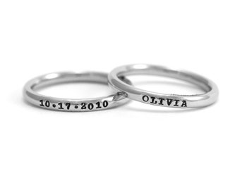 Personalized Ring Etsy