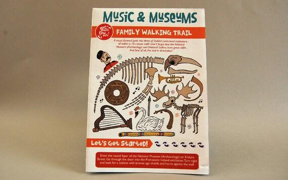 Printable Digital Kids Activity Walking Trail, 3 Dublin Museums