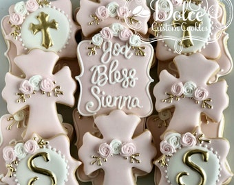 Baptism Christening Communion Confirmation Cookies