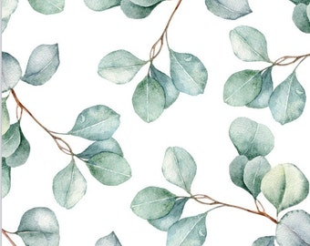 Eucalyptus Sprigs Edible Paper