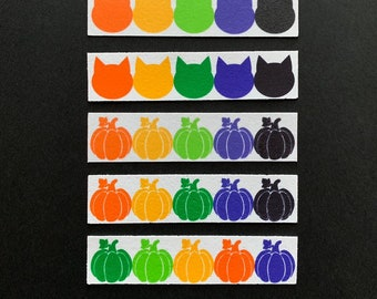 Edible Paint Palettes-24 Strips—Halloween/Fall