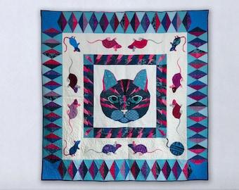 Flash Cat Medallion Quilt- A Foundation Paper Pieced Quilt Pattern