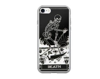 DEATH Tarot Card iPhone 7/8 , 7/8 Plus , iPhone X Case