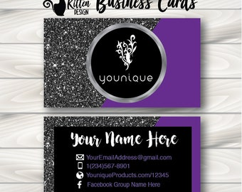 Younique business cards etsy popular items for younique business cards colourmoves