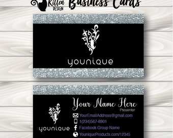 younique business cards younique cards younique swag - Younique Business Cards