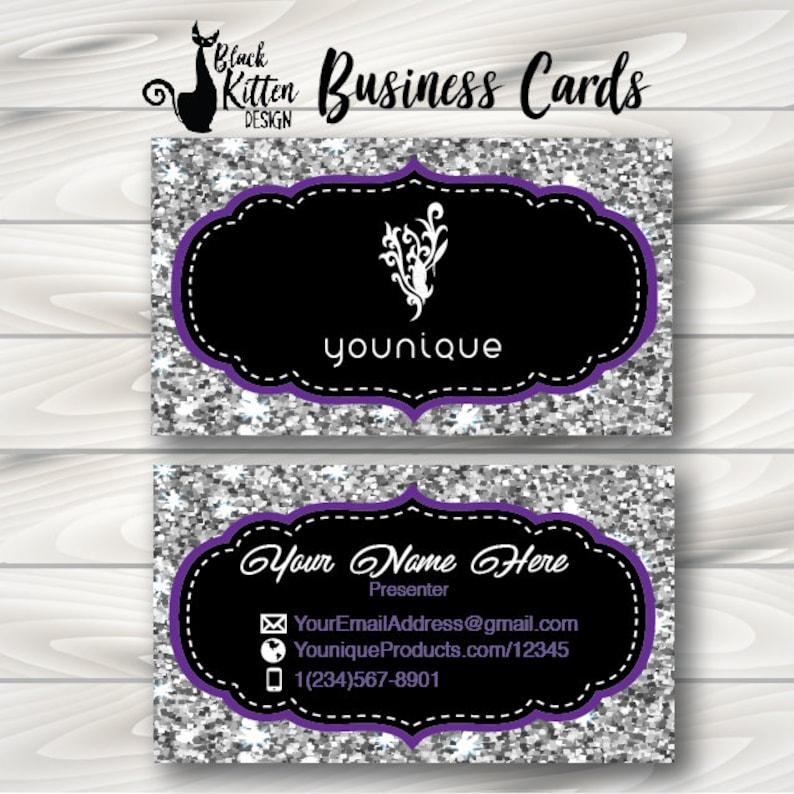 Cartes De Visite Younique Imprime