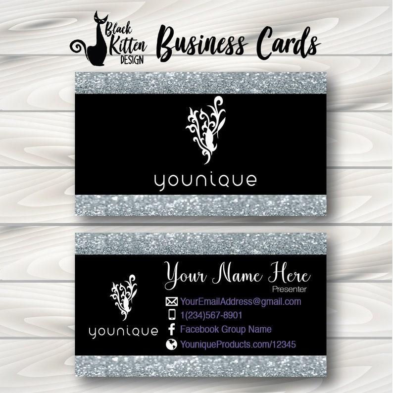 Cartes Imprimees De Younique Visite