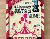 Circus Invitation - Carni...