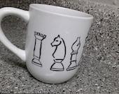 Chess pieces Coffee Mug 1...