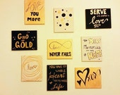 Set of Canvas paintings -...