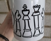 Chess pieces Coffee Mug 11oz