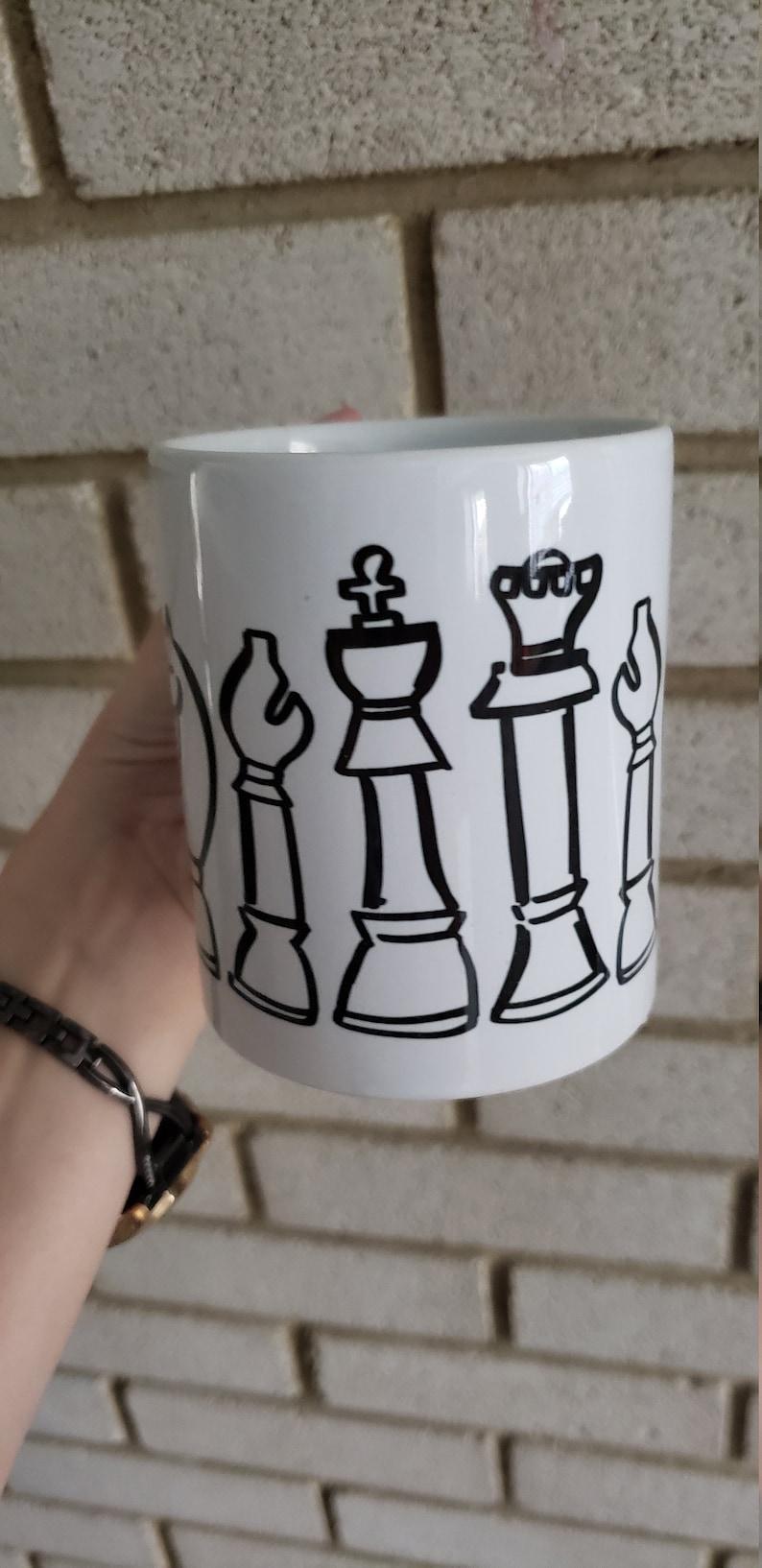 Chess pieces Coffee Mug 11oz image 0