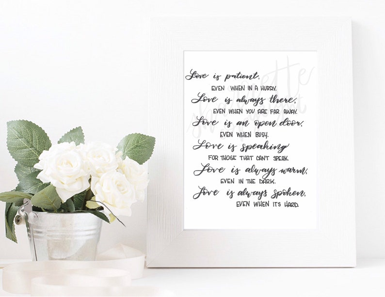 Bible Quote Art  psalms 91 art  modern calligraphy brush image 0