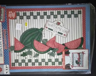 Plaid Watermelon Patch Treansfer , 1994 , Plaid 57655 , Watermelon Patch Transfer , Plaid Transfer ,