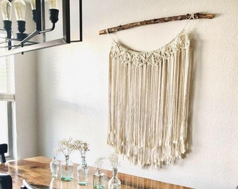 Macrame Curtain Wall Hanging