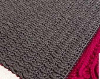 Sand Ripple Afghan Square crochet pattern