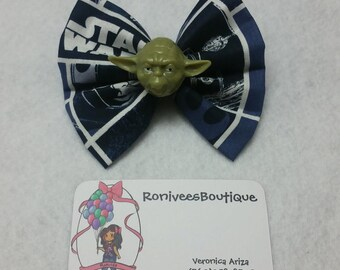 Yoda Hair bow
