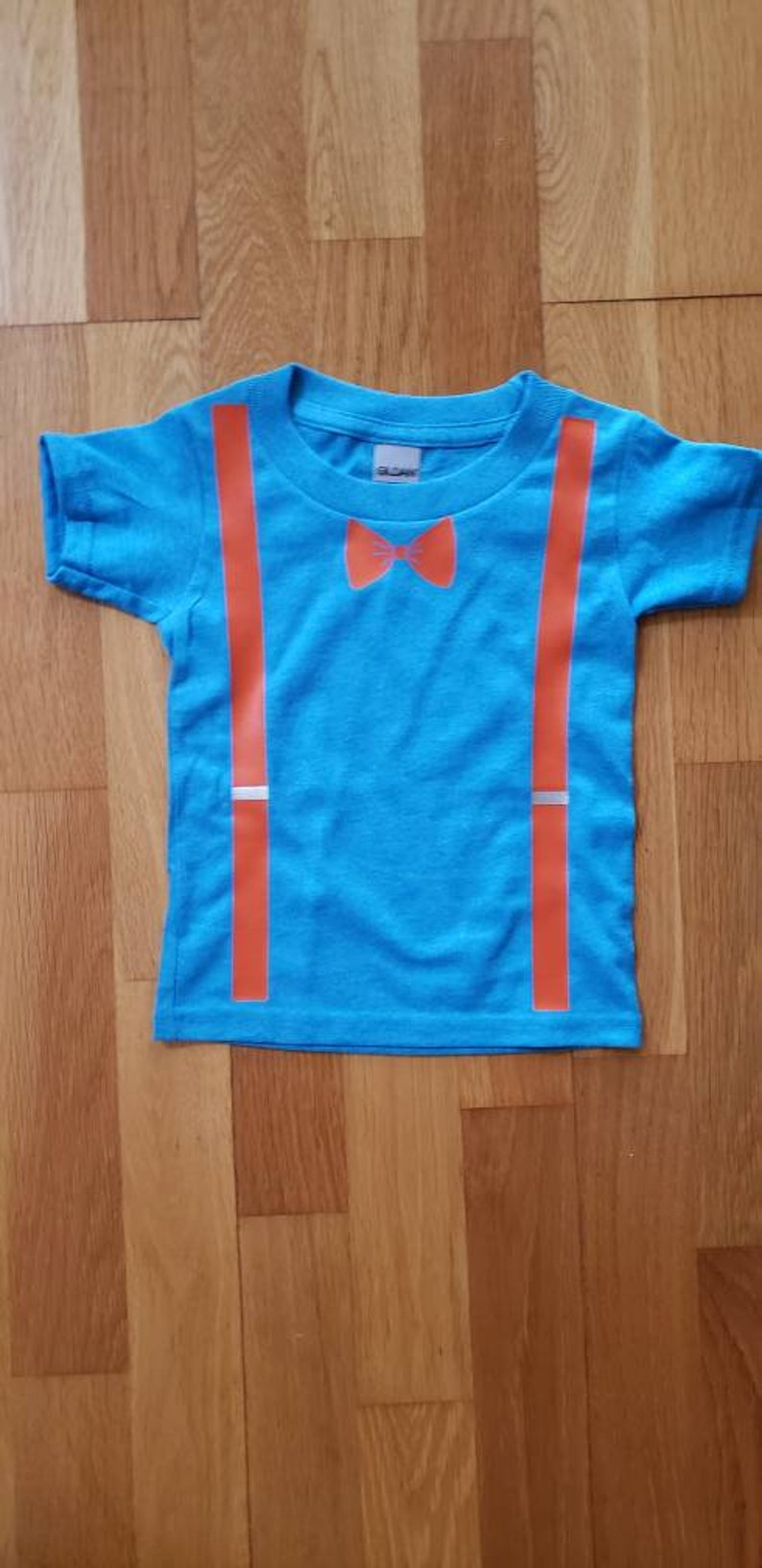 Blippi Inspired Shirt