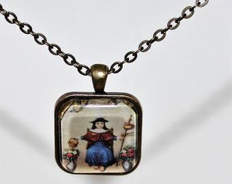 The Holy Child of Atocha  Santo Niño de Atocha  Necklace