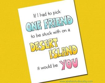 Best Friend Birthday Card, Funny Birthday Card, Birthday card for best friend