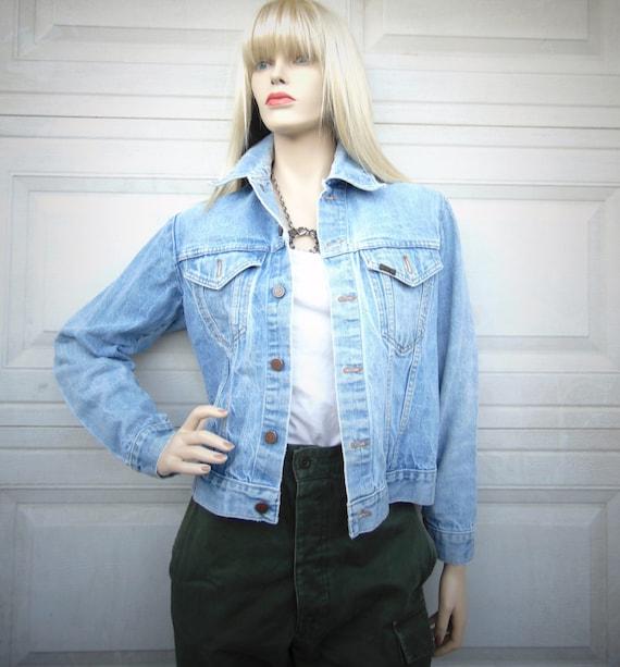 Vintage 60's-70's ROEBUCKS l Denim Jacket, Sz Smal