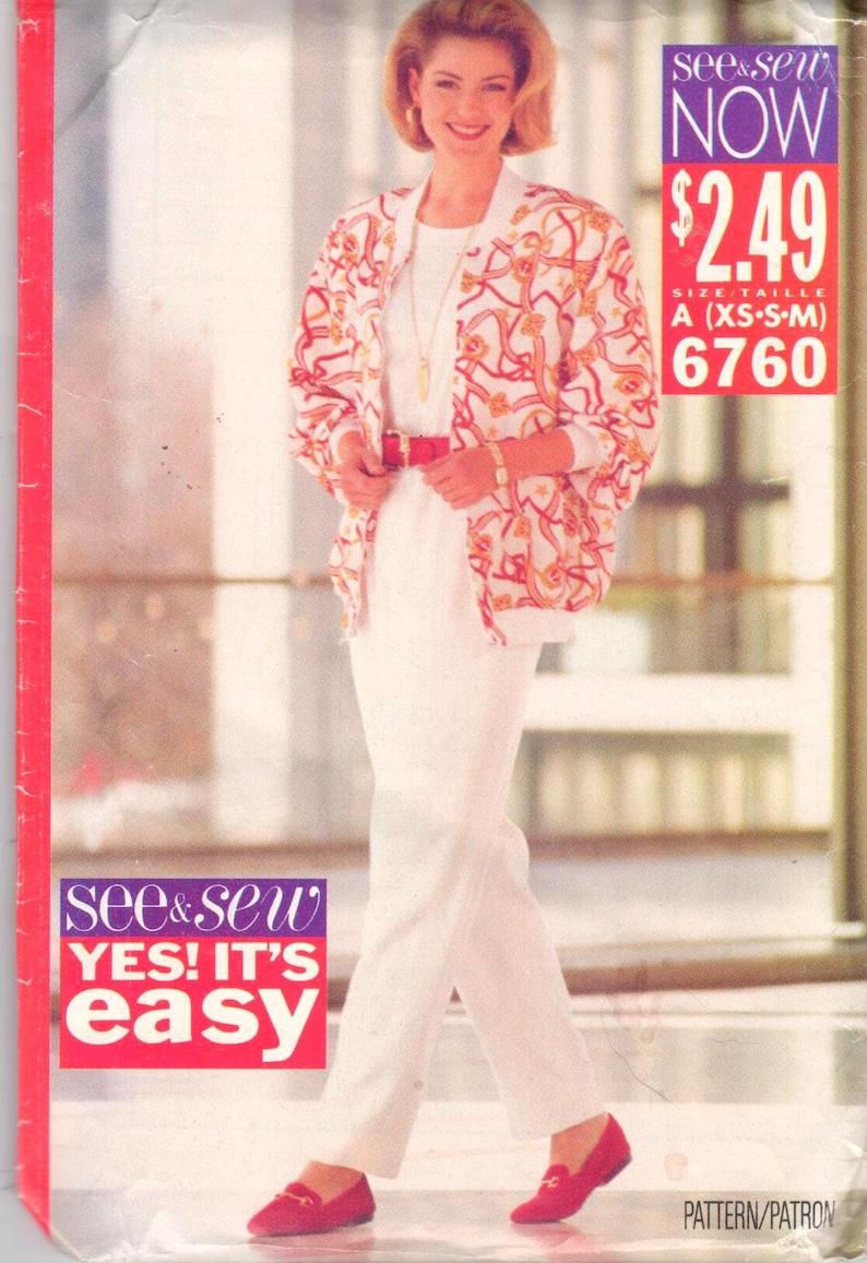 Dresses and Jacket-Easy by Burda 6760 Burda Sewing pattern