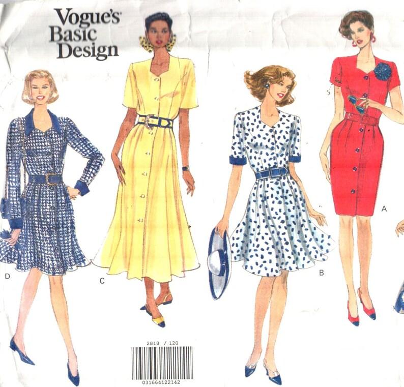 Sweetheart Neckline Dress Pattern