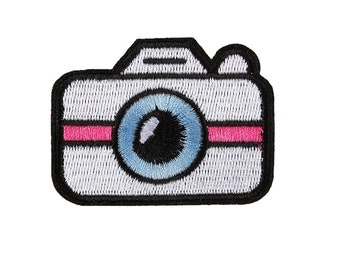 Camera Emoji Patch Etsy